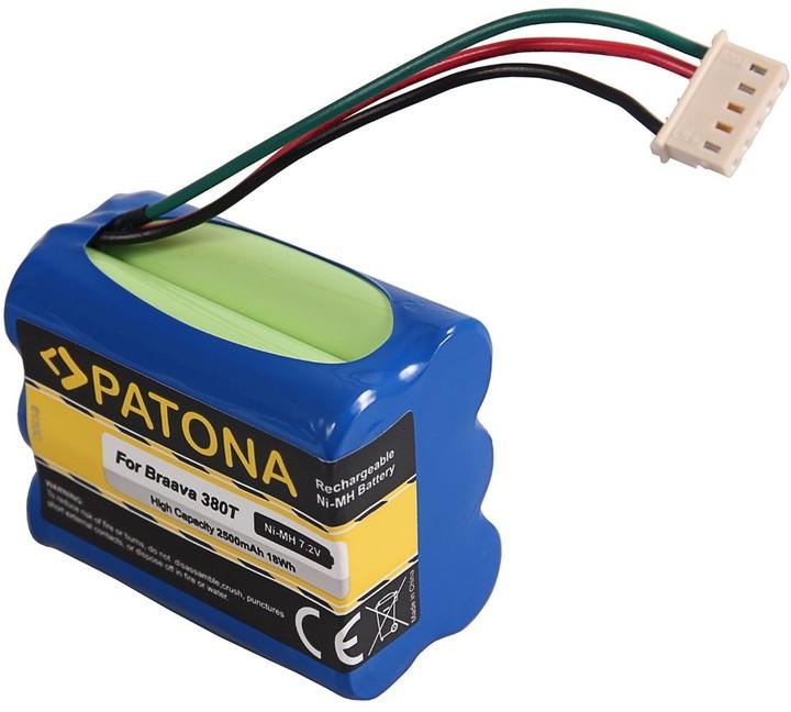 Patona baterie pro robotický vysavač iRobot Braava 380T/390T 2500mAh, 7,2V Ni-Mh