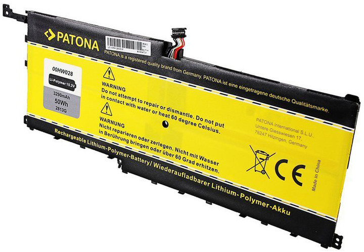 Patona baterie pro ntb LENOVO ThinkPad X1 3290mAh Li-pol 15,2V