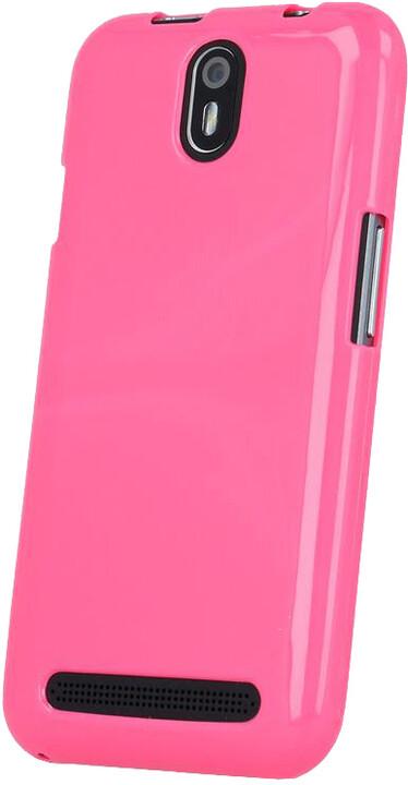 myPhone silikonové (TPU) pouzdro pro FUN 5, růžová