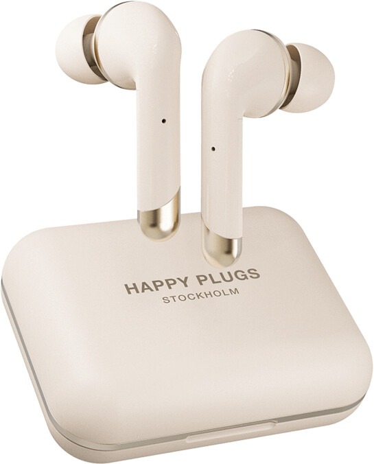 Happy Plugs Air 1 Plus In-Ear, zlatá