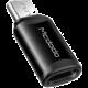 Mcdodo adaptér Lightning - microUSB, černá