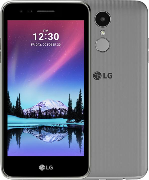 LG K4 2017, šedá