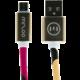 MIZOO USB/micro USB kabel X28-13, color splash