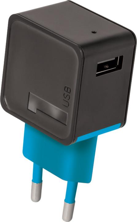 Forever cestovní dobíječ USB 2A TC-04