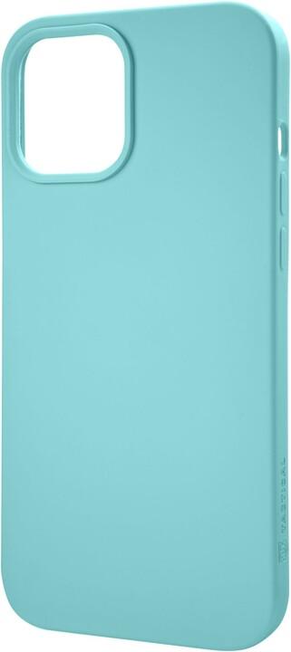 """Tactical silikonový kryt Velvet Smoothie pro iPhone 12 Mini (5.4""""), tyrkysová"""