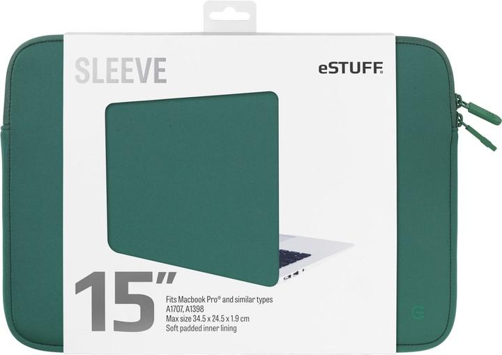 eSTUFF A1707, A1398 15'' Sleeve - Fits Macbook Pro, oasis