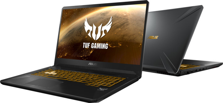 ASUS TUF Gaming FX705DU, černá