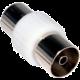 PremiumCord TV antenní spojka IEC 75 Ohm F/F