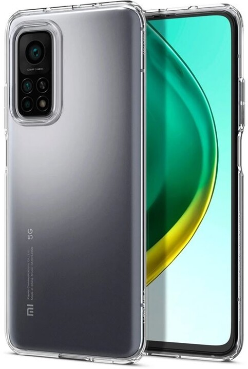 Spigen ochranný kryt Liquid Crystal pro Xiaomi Mi 10T/Pro, transparentní