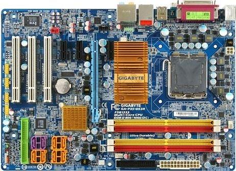 Gigabyte GA-P35-DS3R - Intel P35