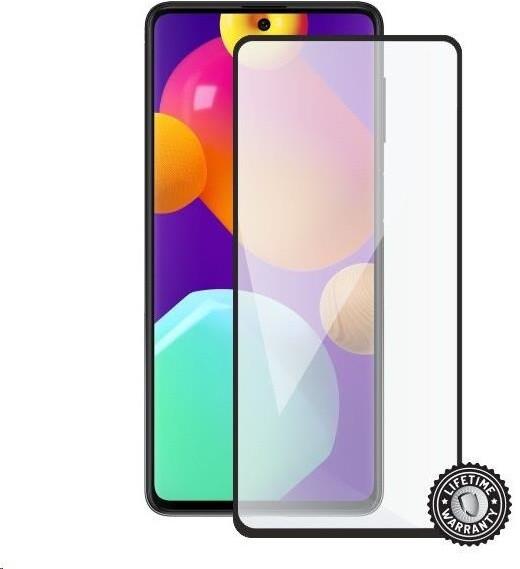 Screenshield temperované sklo pro Samsung Galaxy M62 (M625), Full Cover, černá