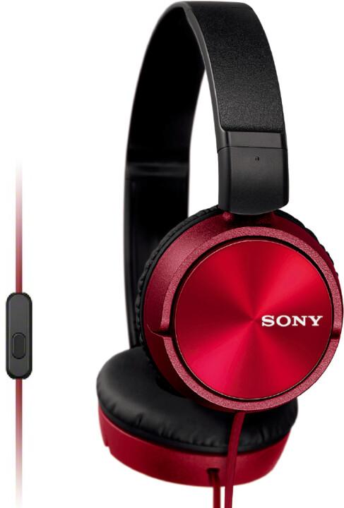 Sony MDR-ZX310APR, červená