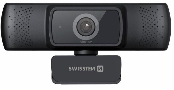 Swissten Webcam, černá