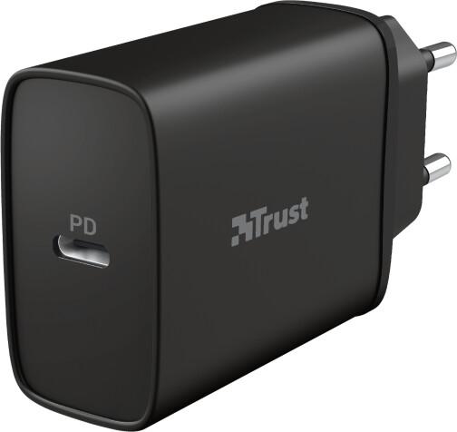 Trust nabíječka Qmax Ultra-Fast, USB-C, PD, 18W