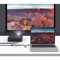 HYPERDRIVE BAR 6v1 USB-C Hub pro iPad Pro, MacBook Pro/Air, stříbrná