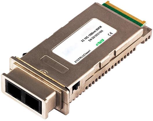Dell optický modul X2, 10Gbit, SM single mode, 40km, Dell kompatibilní OEM