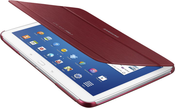 """Samsung polohovací pouzdro EF-BP520BR pro Samsung Galaxy Tab 3 10,1"""", červená"""