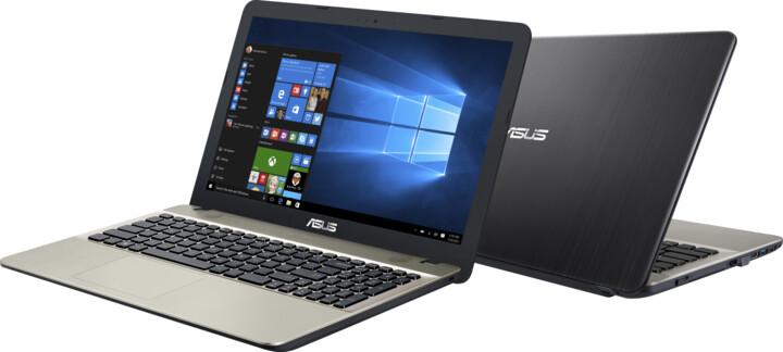 ASUS VivoBook Max X541UA, černozlatá