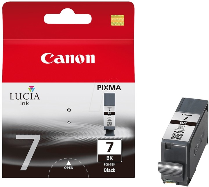 Canon PGI-7 BK, černá