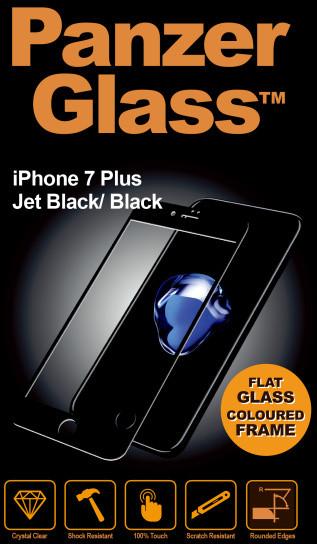 PanzerGlass Edge-to-Edge pro Apple iPhone 7/8 Plus, černé