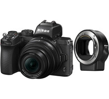 Nikon Z 50 + 16-50mm DX + FTZ adapter - VOA050K004