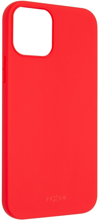 """FIXED pogumovaný kryt Story pro iPhone 12/12 Pro (6.1""""), červená"""