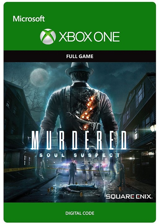 Murdered Soul Suspect (Xbox ONE) - elektronicky