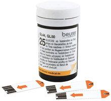 BEURER sada testovacích proužků pro glukometry GL 44/ GL 50, 2x25 ks - BEU-464.14
