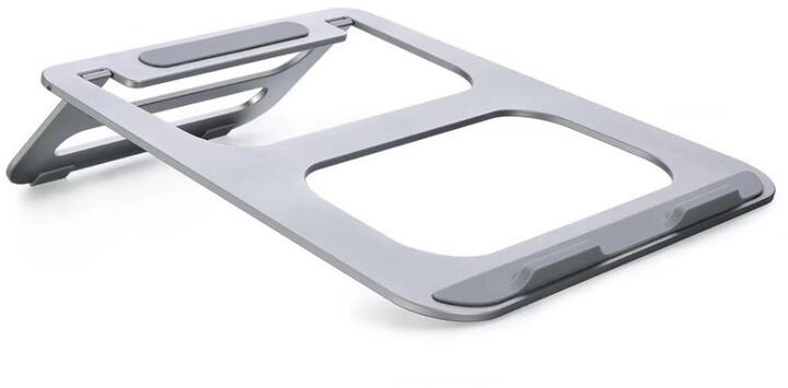 COTEetCI podstavec pro notebook, hliník, stříbrná