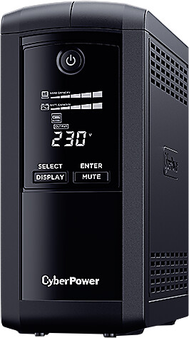 CyberPower Value Pro GreenPower UPS 1000VA / 550W IEC