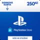 PlayStation Store - Dárková karta 250 Kč - elektronicky 500 Kč sleva na příští nákup nad 4 999 Kč (1× na objednávku)