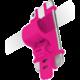 CELLY EASY BIKE univerzální držák pro telefony a navigace k upevnění na řídítka, růžový