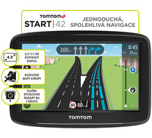 TOMTOM START 42 Europe Lifetime mapy - 1AA4.002.03