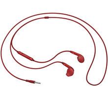 Samsung headset EO-EG920B, červená - EO-EG920BREGWW