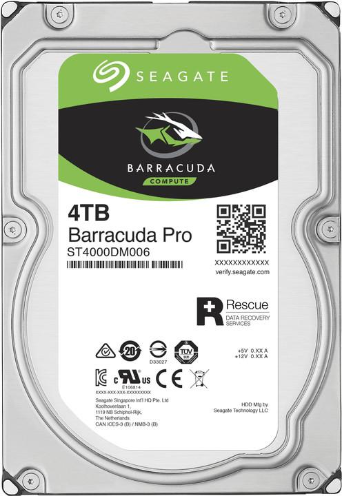 Seagate BarraCuda PRO - 4TB