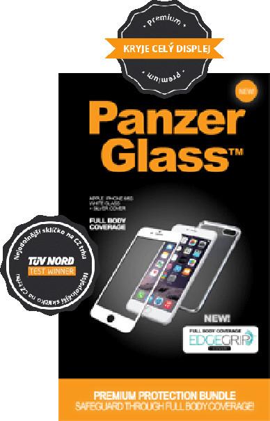 PanzerGlass Premium - Ochrana celého telefonu - pro Apple iPhone 6 - Edge Grip - bílá