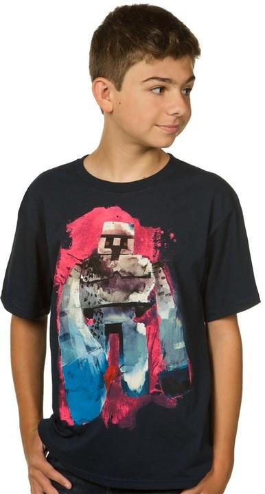 Tričko Minecraft Iron Golem, dětské (M)