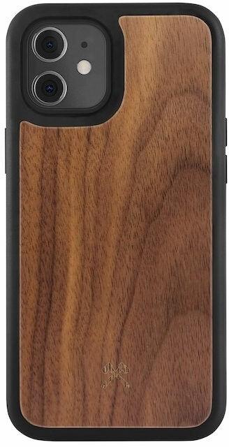 Woodcessories ochranný kryt TPU Bumper pro iPhone 12 mini, Walnut/ořech