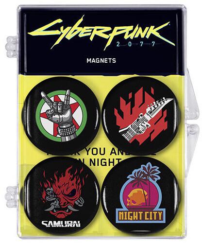Magnet Cyberpunk - Sada 4 magnetů