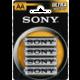 Sony Zinko - chloridové baterie - ULTRA 1,5V - 4 ks v balení - R6/AA (ULTRA)
