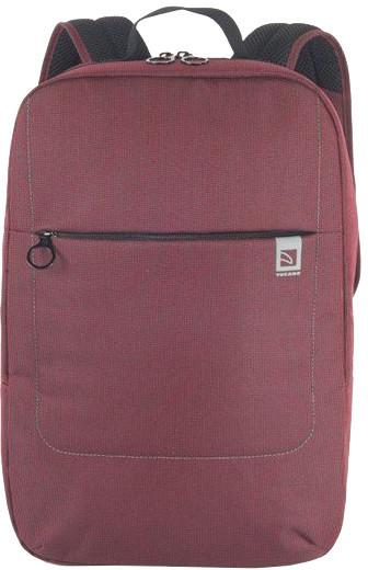 """TUCANO LOOP batoh pro notebooky do 15,6"""", vnitřní polstrování, vínová"""