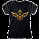 Tričko Nintendo: The Legend Of Zelda - Hyrule Kingdom Logo, dámské (S)