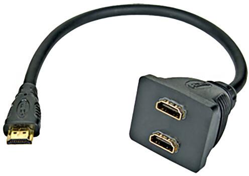 PremiumCord Adapter HDMI rozdvojka M - 2x F konektory