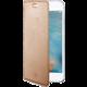 CELLY Air ultra tenké pouzdro typu kniha pro Apple iPhone 7, PU kůže, růžovozlaté