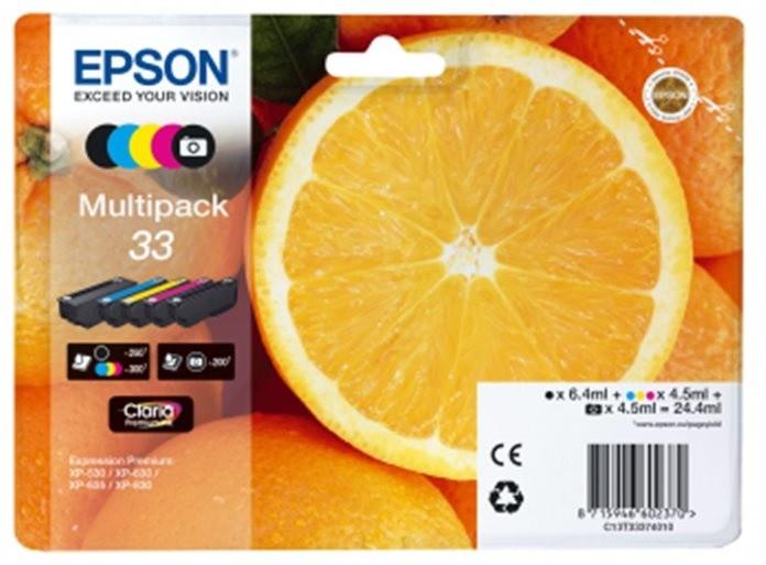 Epson C13T33374010, multipack