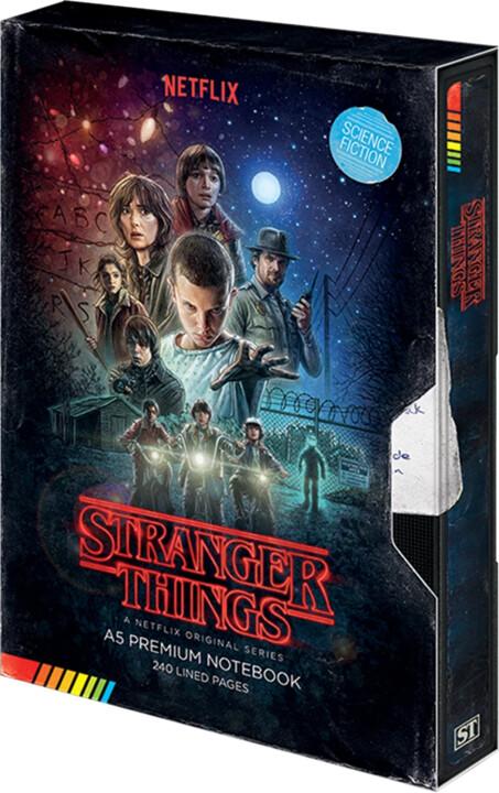 Zápisník Stranger Things - Season 1 VHS
