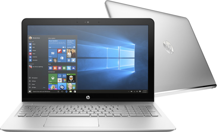 HP Envy 15 (15-as000nc), stříbrná