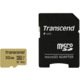 Transcend Micro SDHC 500S 32GB 95MB/s UHS-I U3 + SD adaptér
