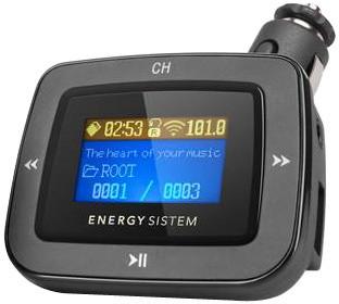 EU3C ENERGY CAR 1100 DARK IRON, FM Transmitter, LCD, dálkový ovladač