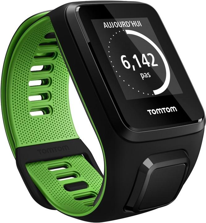 TOMTOM Runner 3 (L), černá/zelená